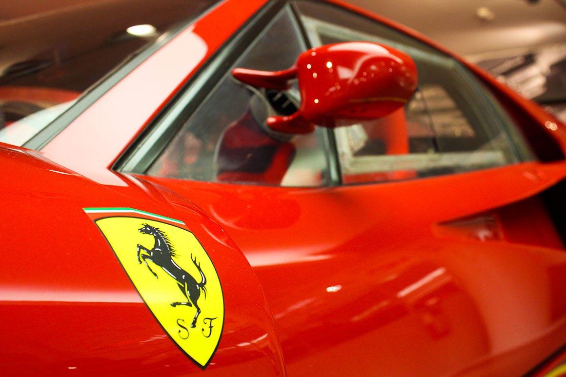 Day Tour Milan to Ferrari & Lamborghini - Car