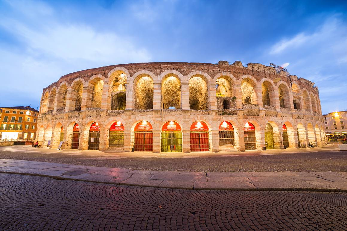 Day Tour Milan to Verona - Arena