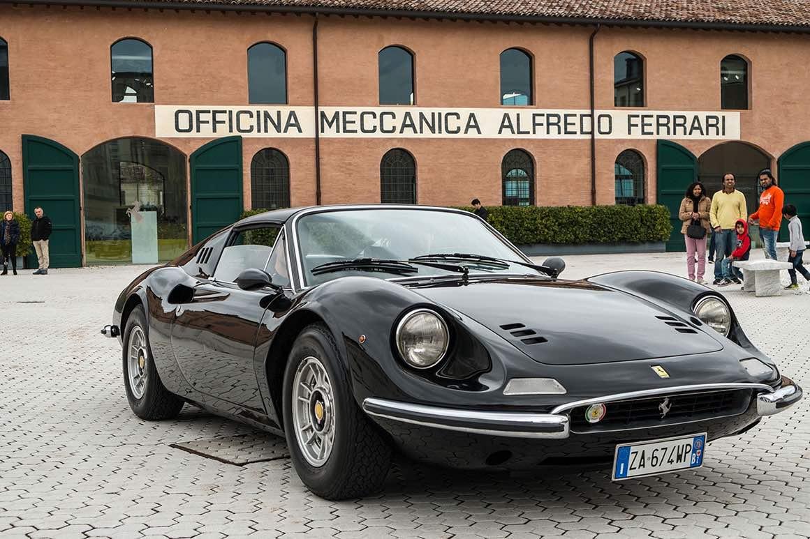 Day Tour to Ferrari & Lamborghini Museum - Black Ferrari