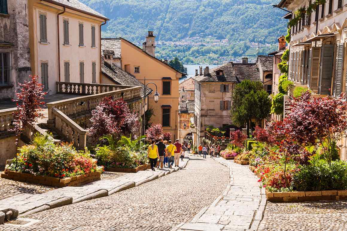Lake Maggiore Day Tour from Milan - Village View