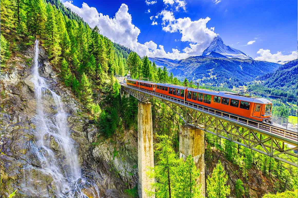 Bernina Express Private Tour from Milan - Red Train