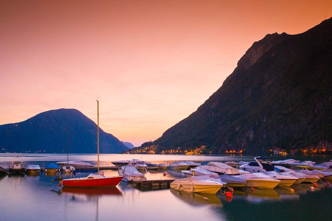 Day Tour Milan to Lake Como & Lugano - Boats