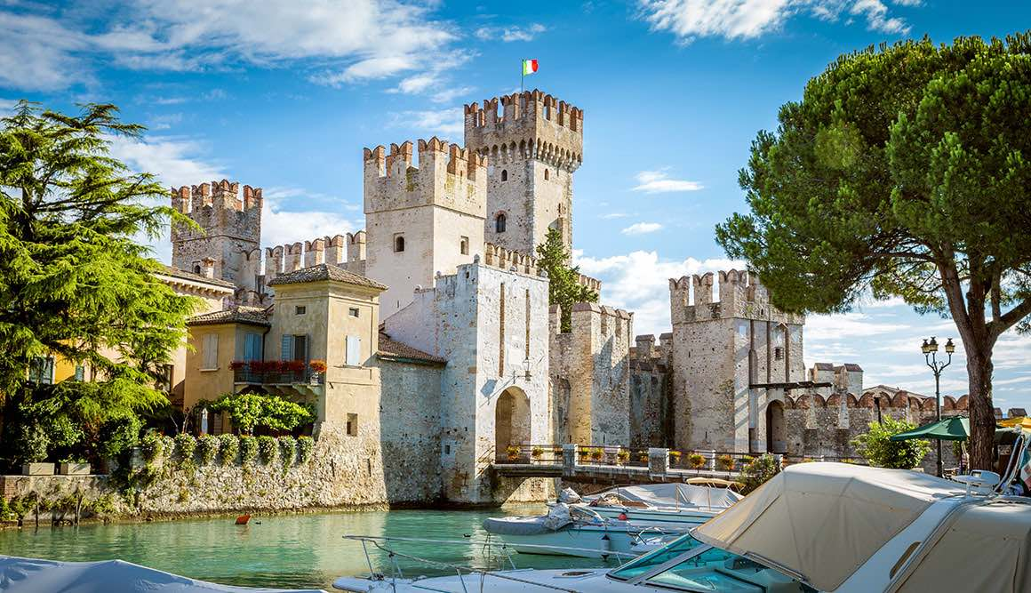 Day Tour Milan to Lake Garda - Sirmione Castle
