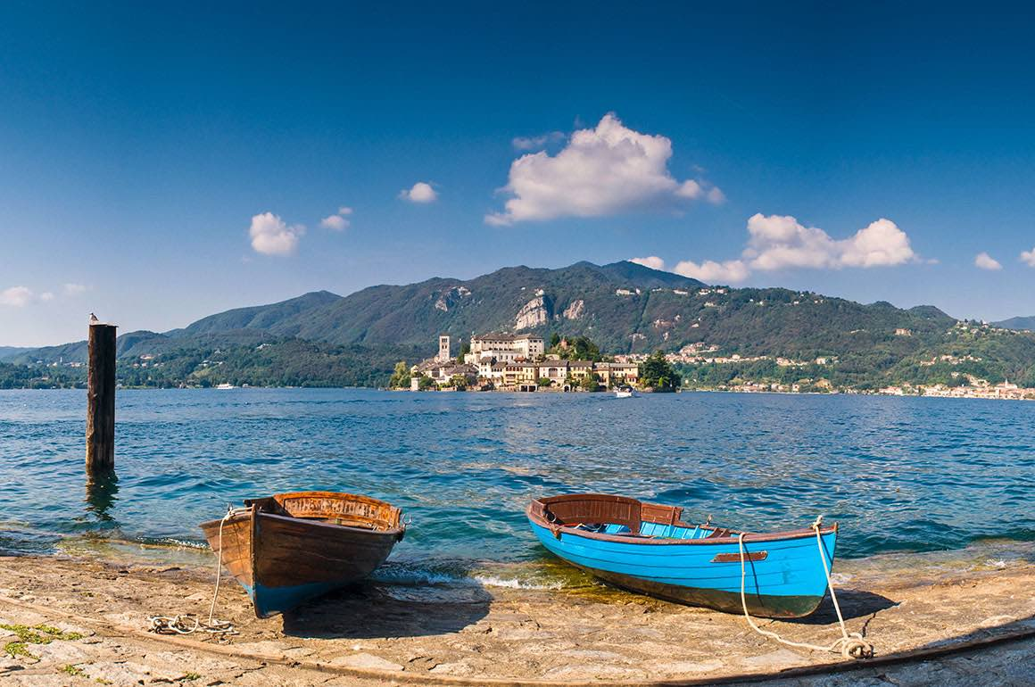 Day Tour to Lake Orta & Maggiore - Fisher Boats