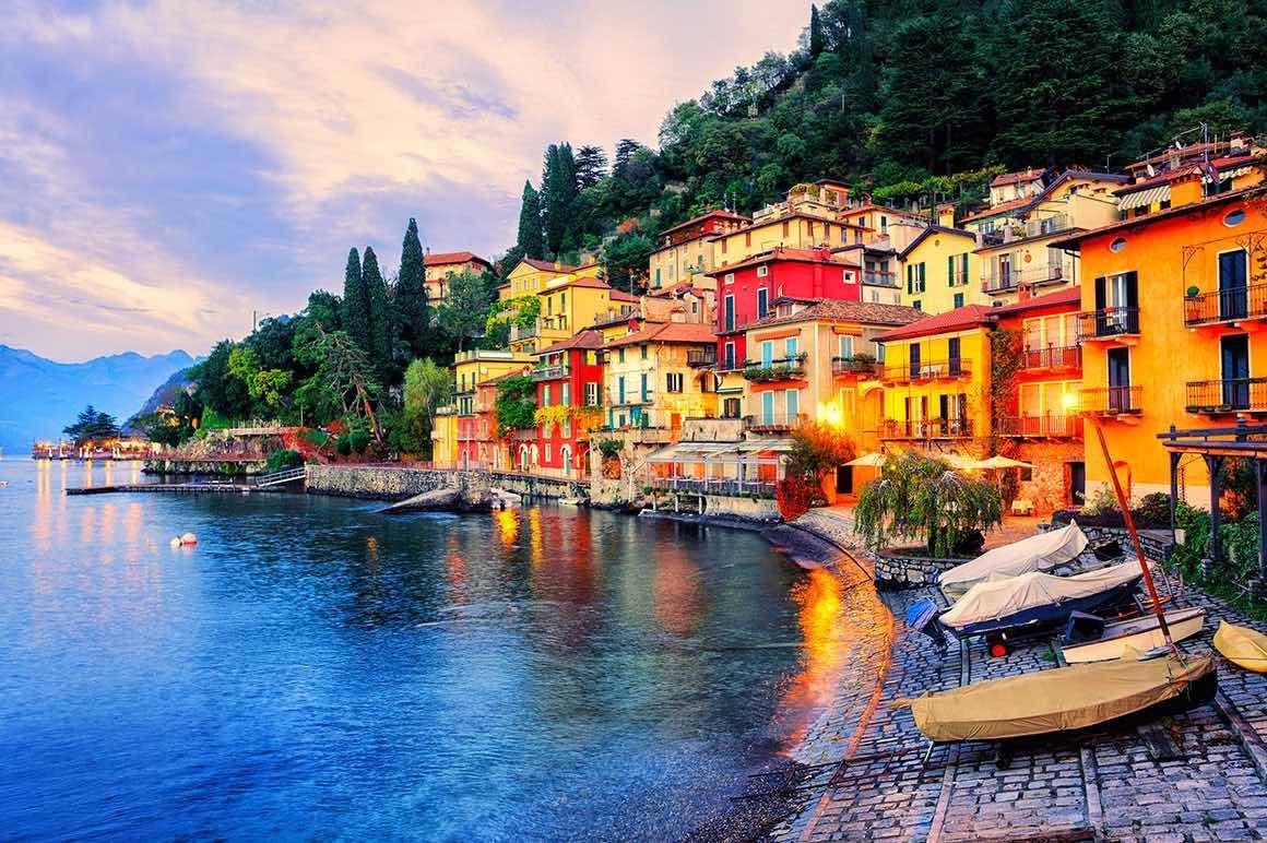 Day Trip to Lake Como & Lugano - Village View