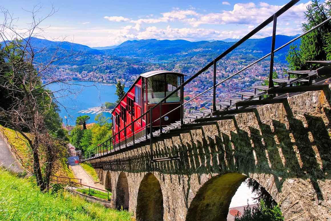 Lake Como & Lugano Day Tour from Milan - Brunate