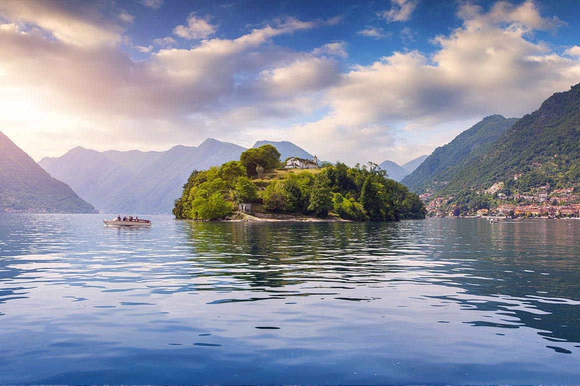 Luxury Tour Milan to Lake Como & Lugano - Comacina Island