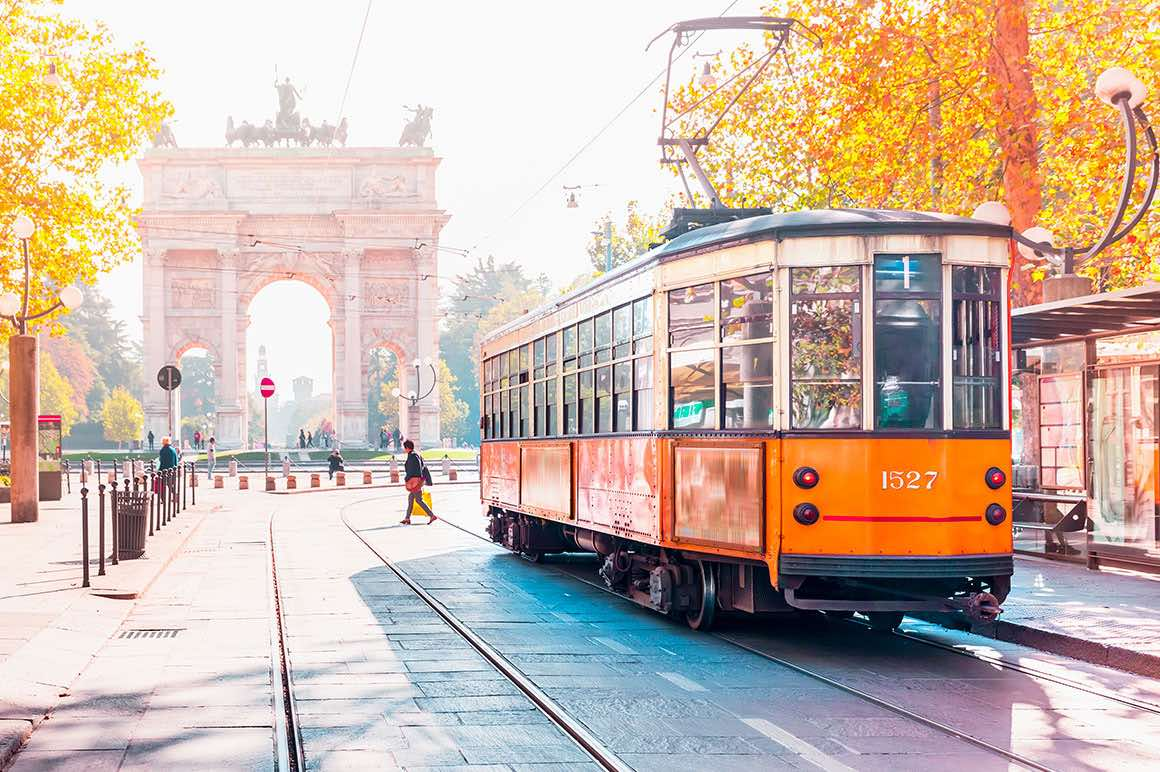 Milan Guided Tour - Arco della Pace
