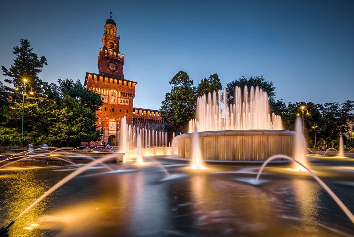 Milan Walking Tour - Sforza Castle