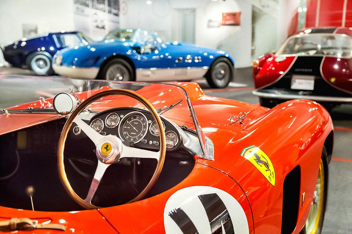 Day Tour Florence to Ferrari & Lamborghini - Vintage Cars