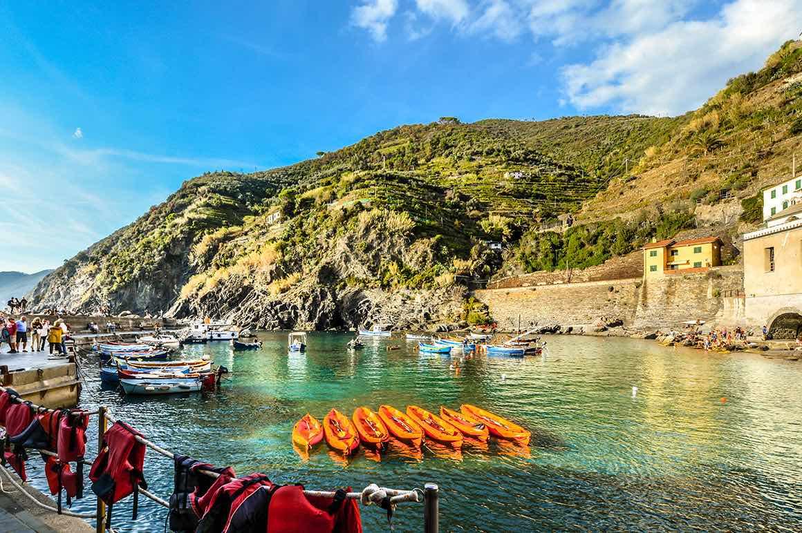 Day Tour Livorno to Cinque Terre - Fisher Boats