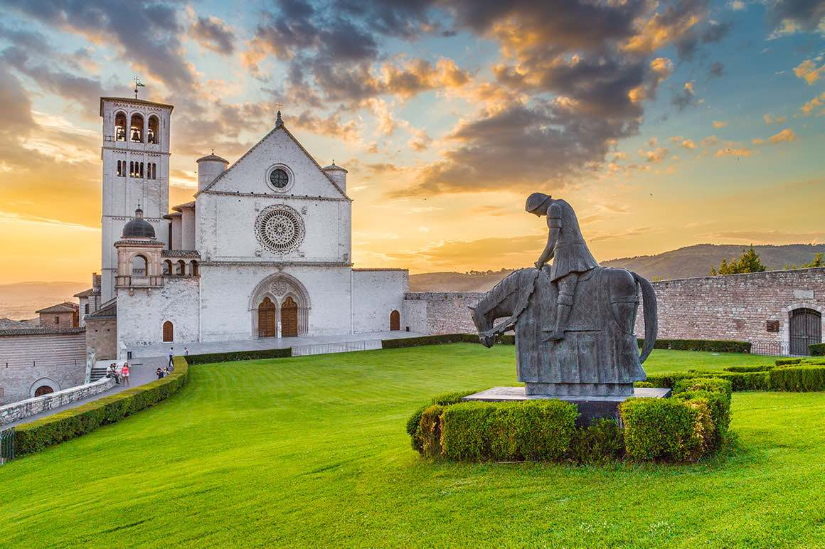 Day Tour Rome to Orvieto & Assisi - St. Francis Basilica