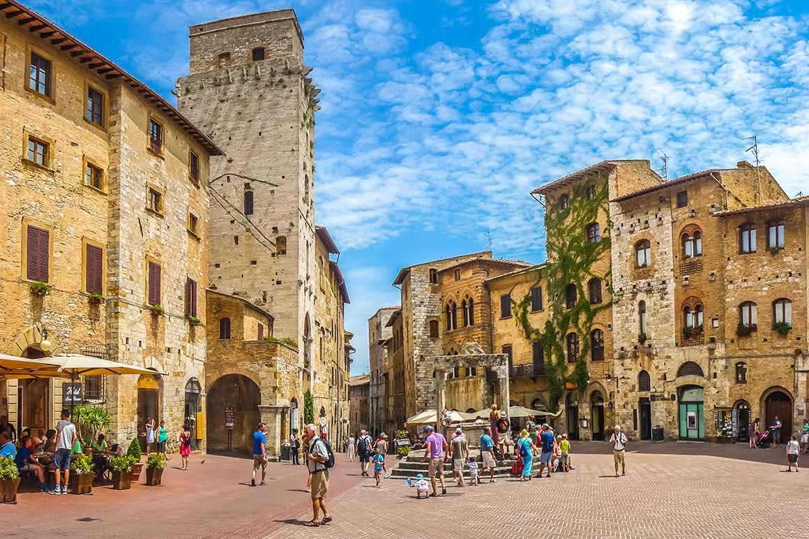 Day Trip Florence to Siena & San Gimignano - Historic Centre