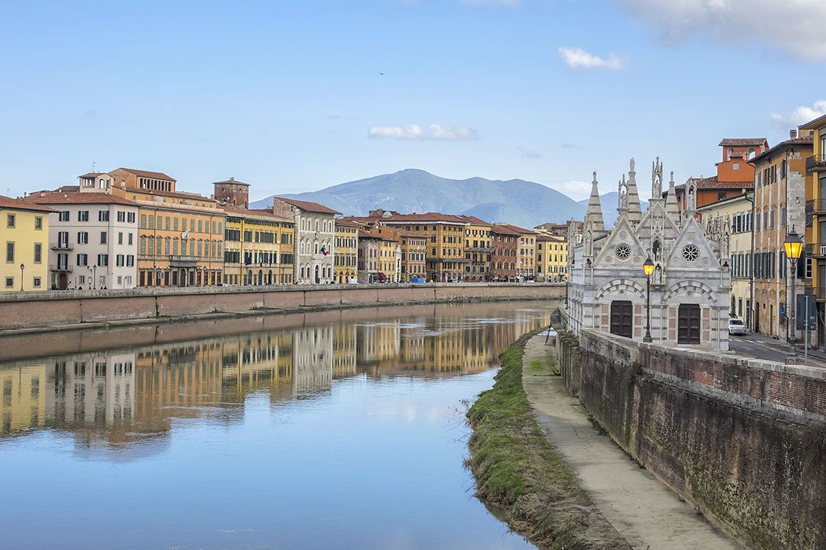 Florence & Pisa Day Tour from Livorno - River View