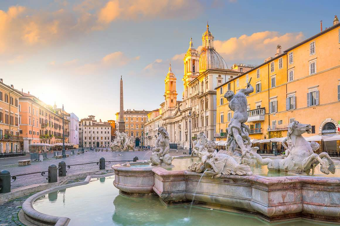 Luxury Tour Civitavecchia to Rome - Bernini Fountain