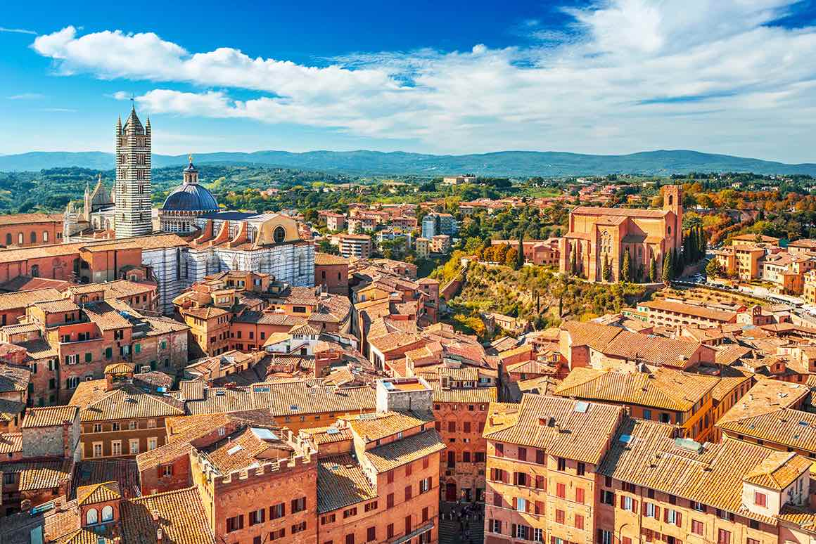 One Day Trip Florence to Siena & San Gimignano - UNESCO Heritage