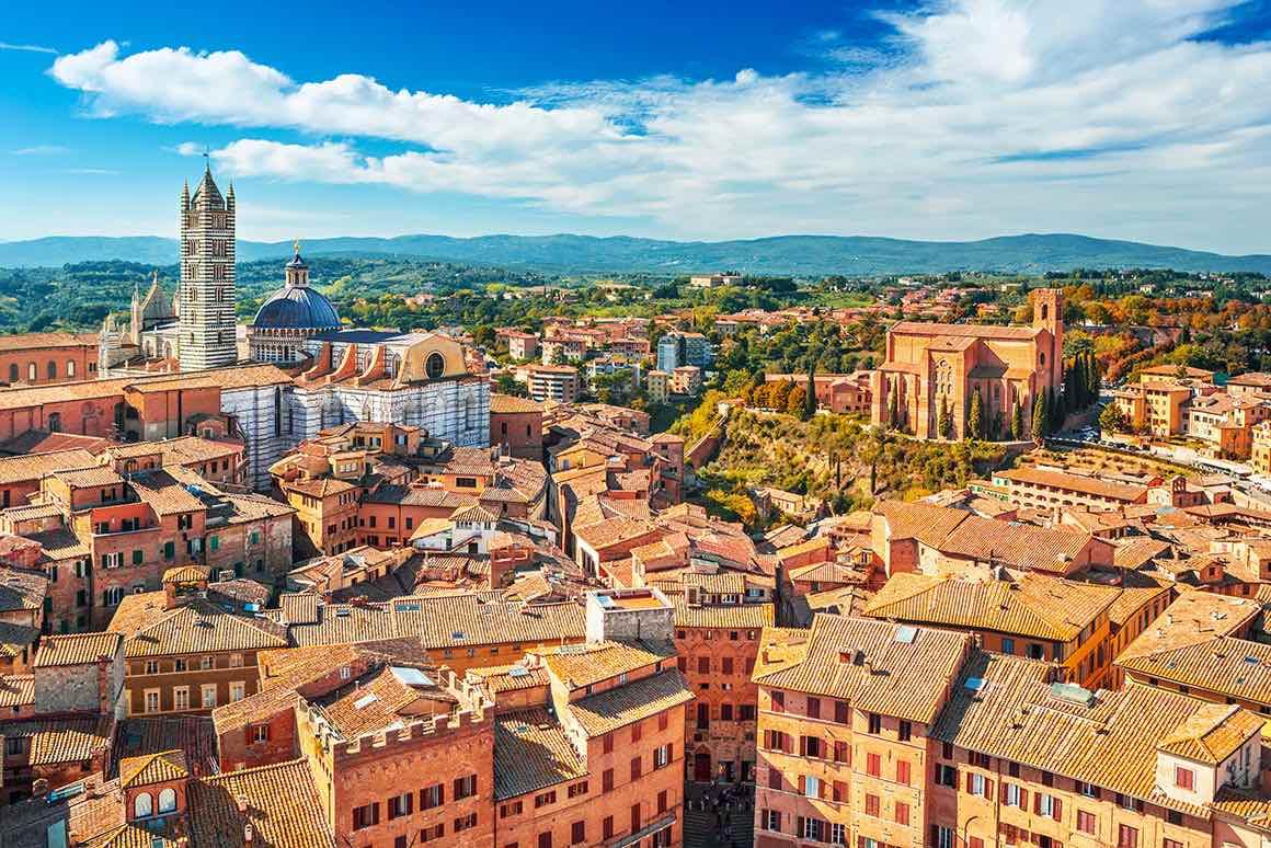 One Day Trip Florence to Siena & San Gimignano - UNESCO Heritage
