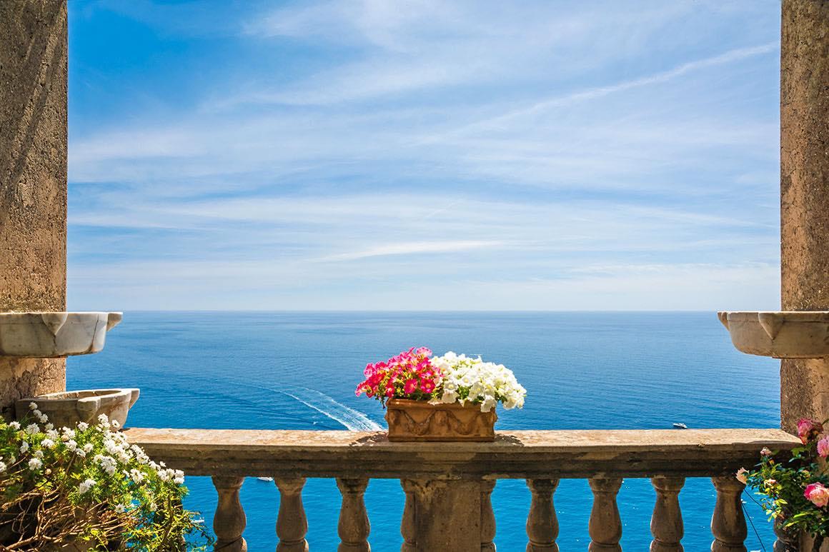 One Day Trip Rome to Amalfi Coast - Sea View