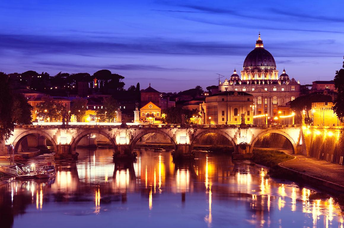 Vatican Guided Tour - Night View