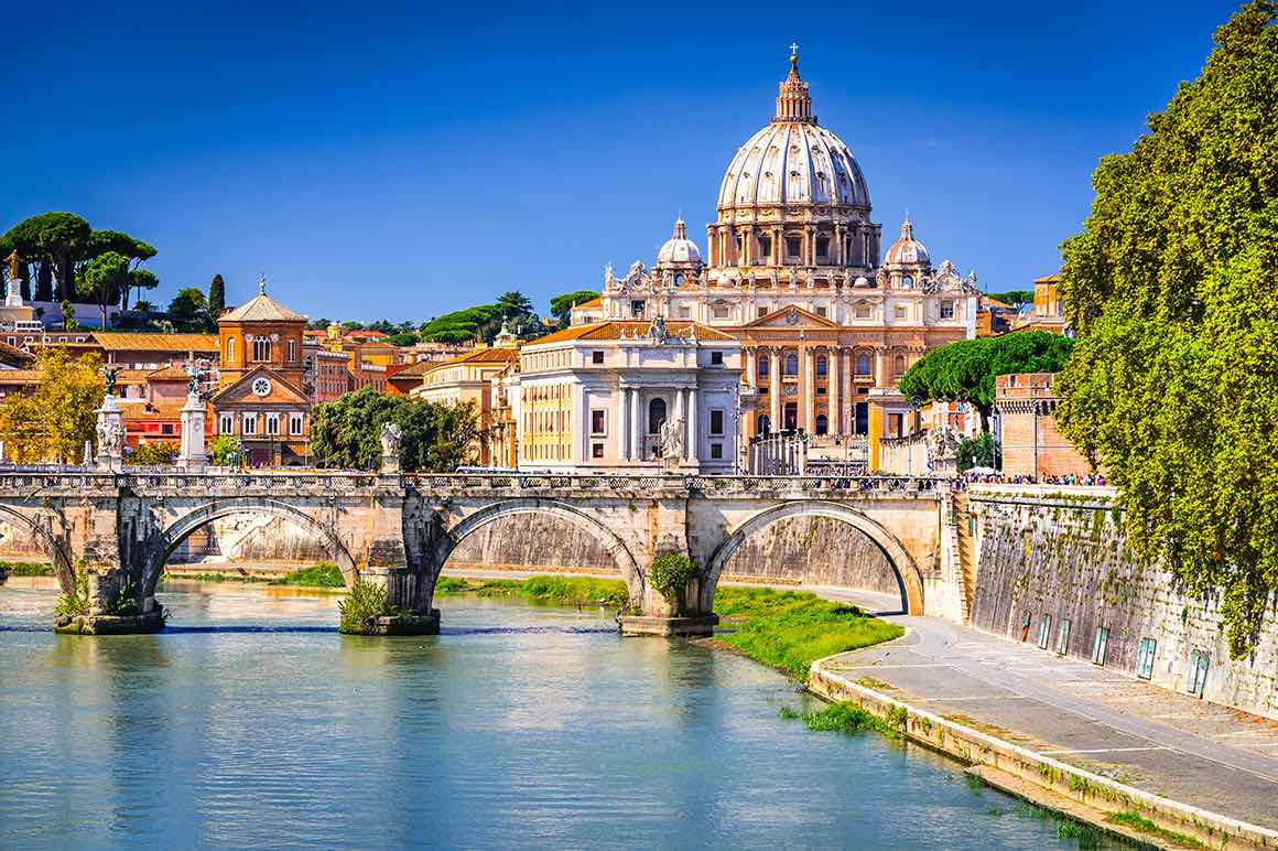 Luxury Tour Florence to Rome - St. Peter's Basilica