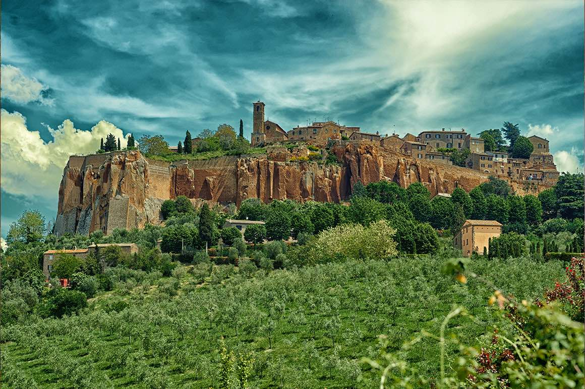 Transfer Florence to Rome with stop in Orvieto