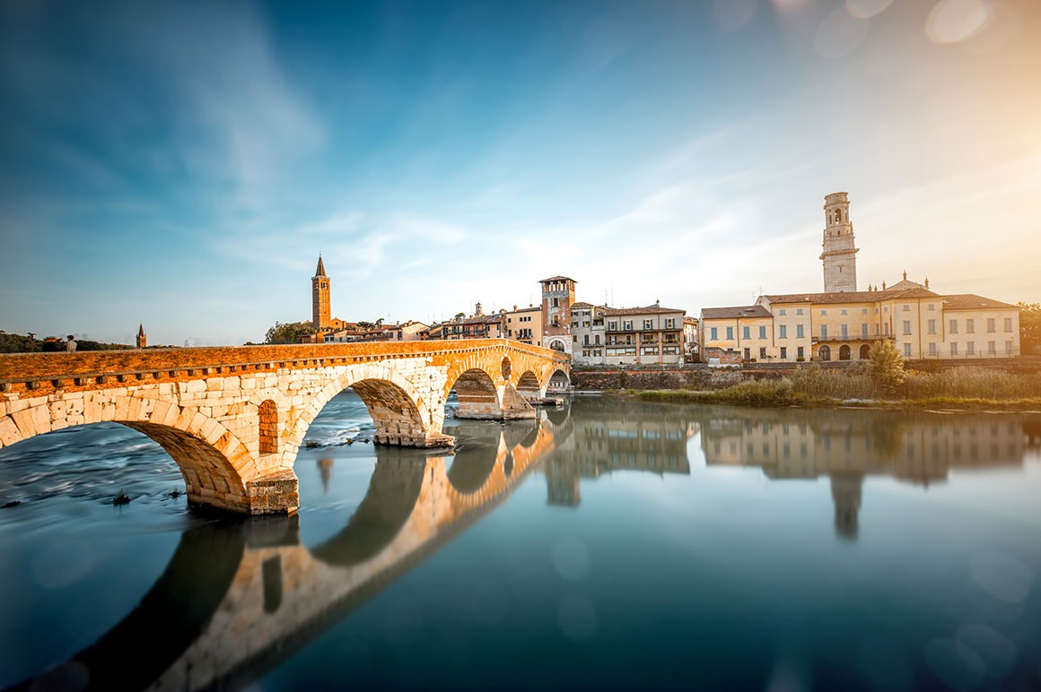 Transfer Milan to Venice with stop in Verona