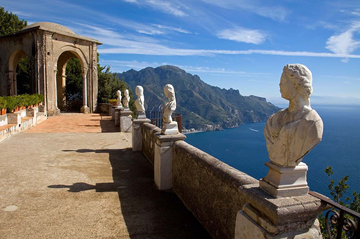 Transfer Rome to Naples with stop in Positano - View