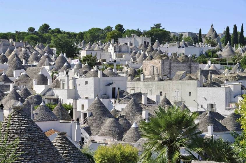 Lecce Day Trip from Bari - Panoramic View Alberobello