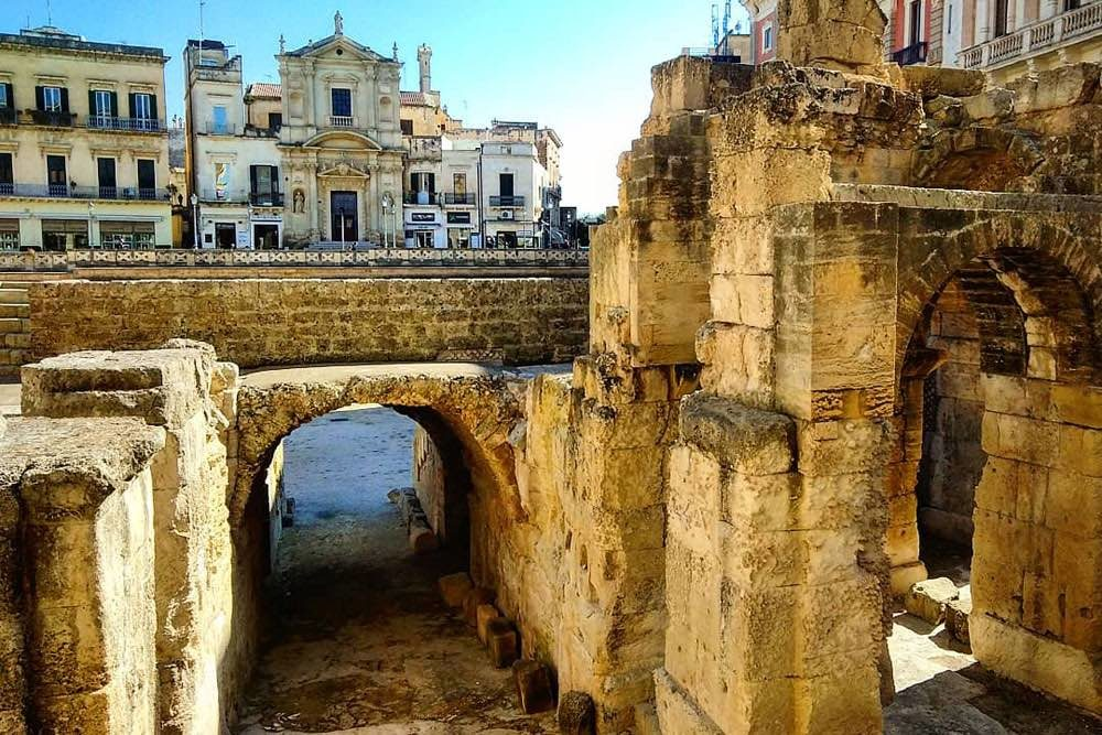 Lecce Day Trip from Bari - Roman Ruins