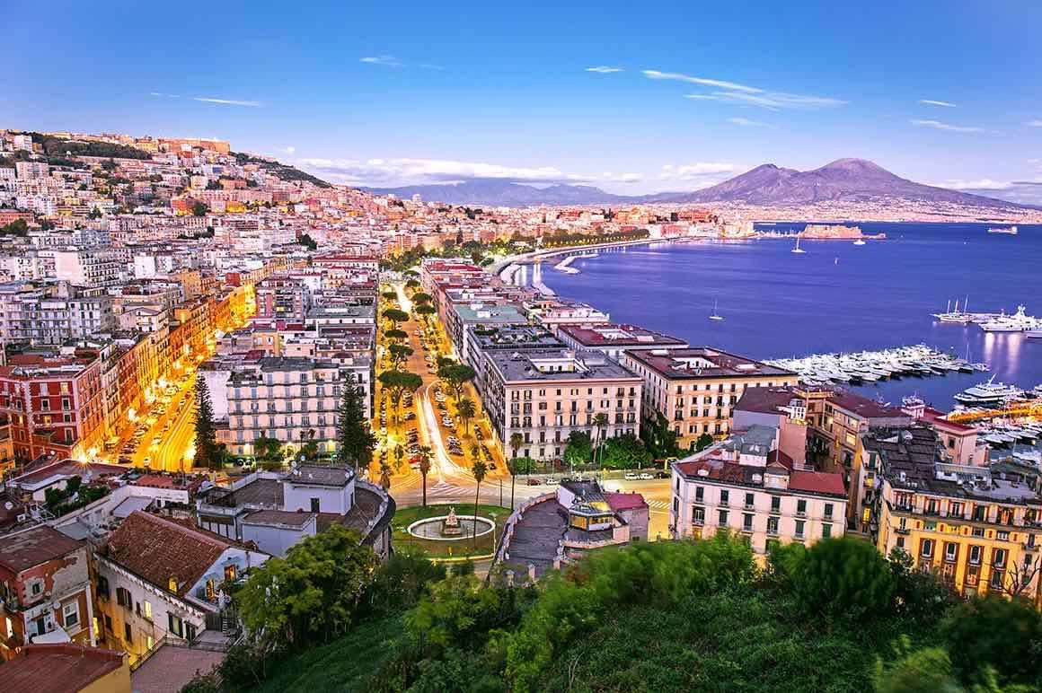 Pompeii Shore Excursion from Naples - Naples View